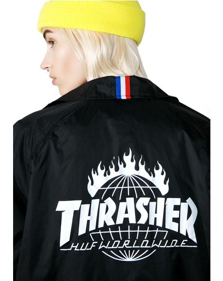 X Thrasher Coaches Jacket
