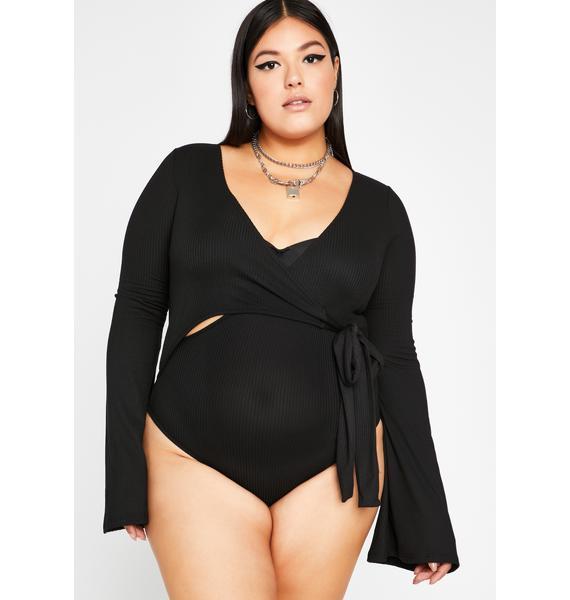 Always Make It Good Wrap Bodysuit