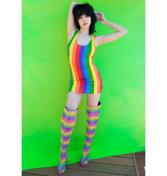 Club Exx Nothing But Love Bodycon Dress