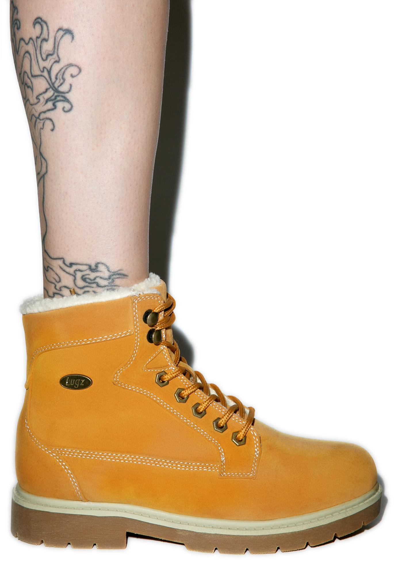 Lugz Workers Regiment High Fleece Boots