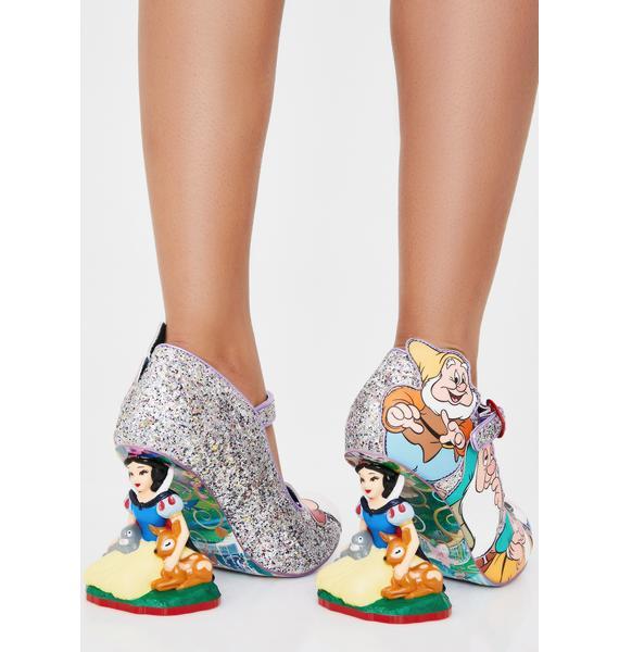 Irregular Choice Seven Is Company Glitter Heels