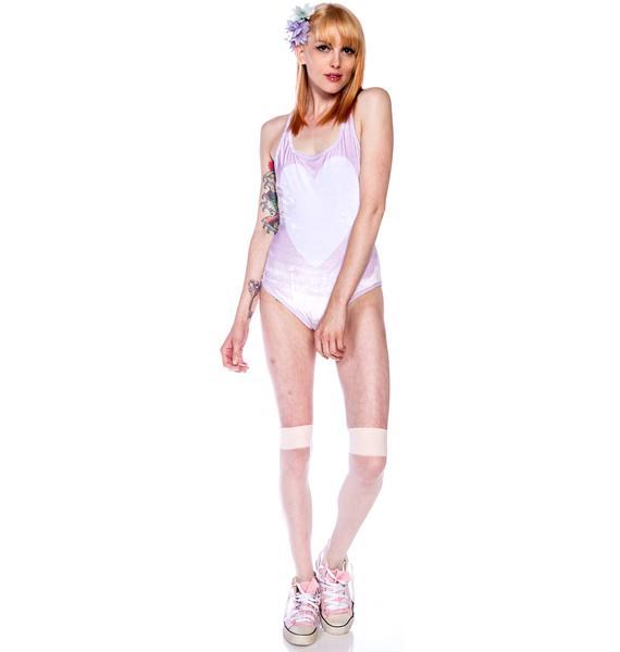 Wildfox Couture Juliet Wings Bodysuit