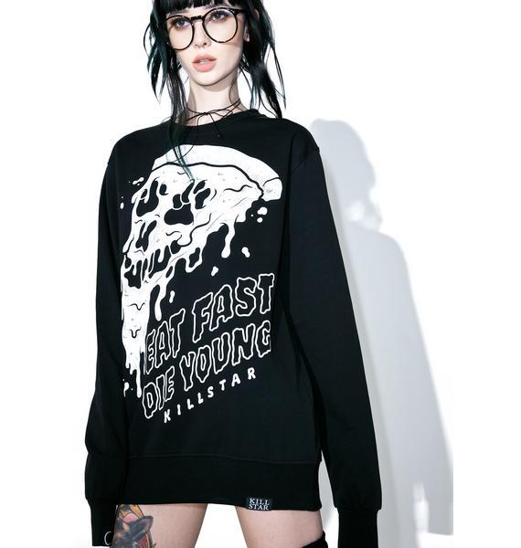 Killstar Eat Fast Sweatshirt
