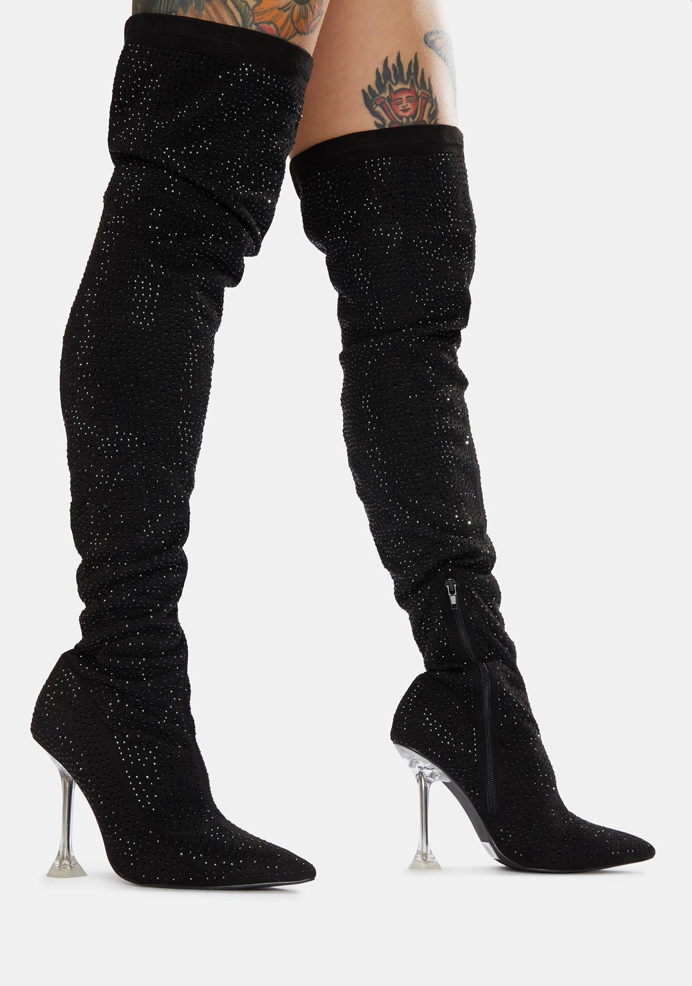 Class Act Thigh High Boots