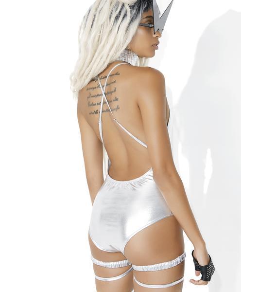 Incandescence Metallic Bodysuit