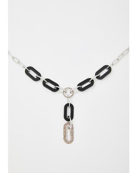 Baddie Vixen Lariat Necklace
