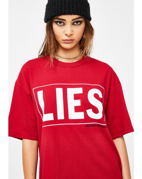Lies Graphic Tee