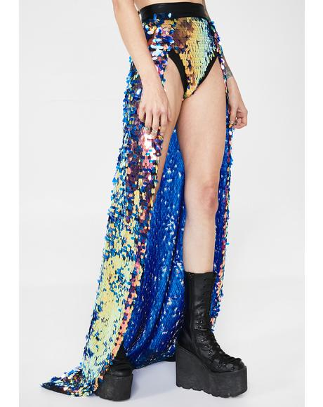 Freakshine Sequin Maxi Skirt