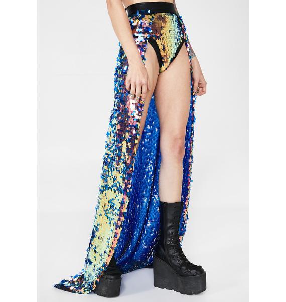 Freakshine Sequin Maxi Skirt
