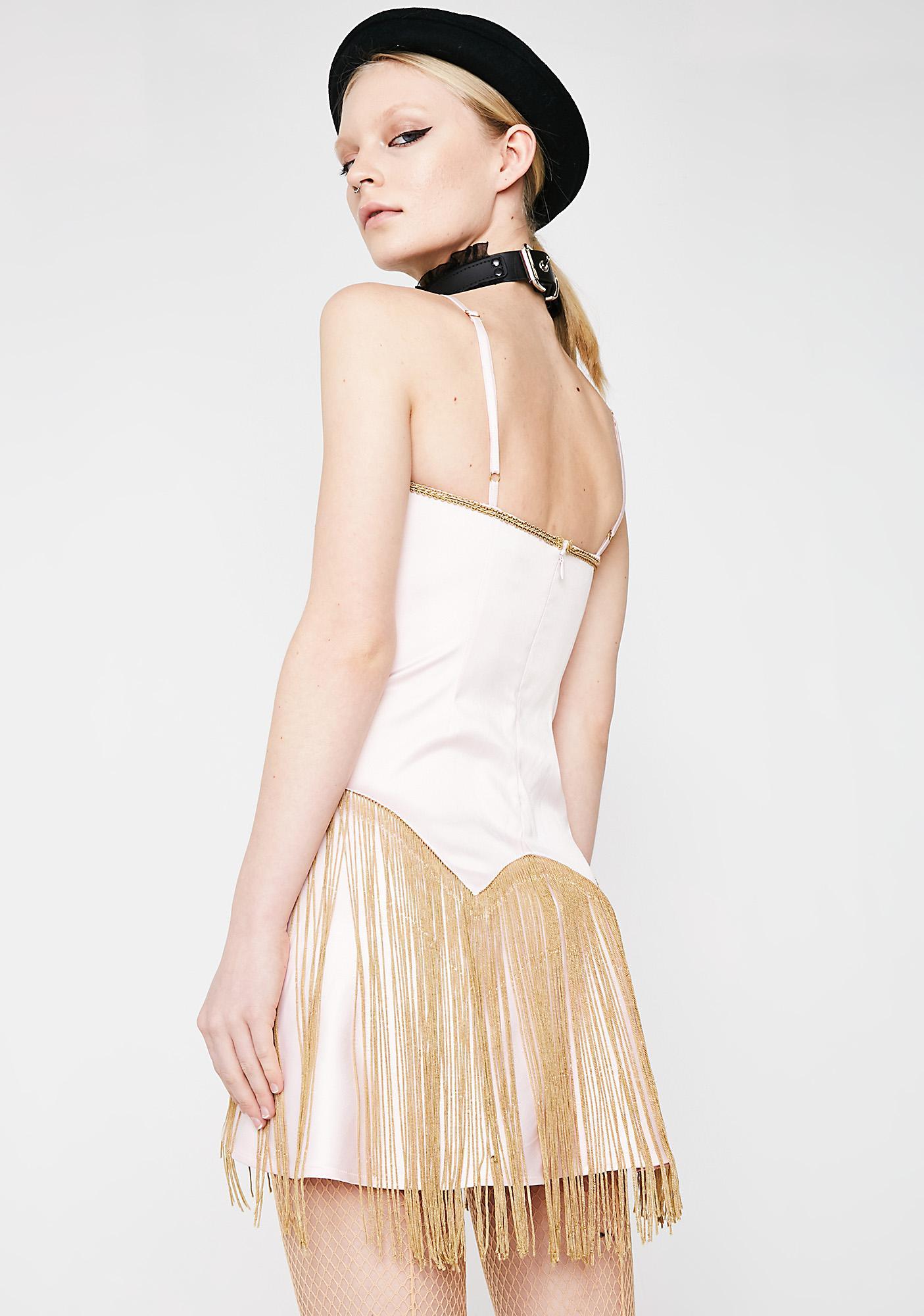 Current Mood Show Stopper Fringe Dress