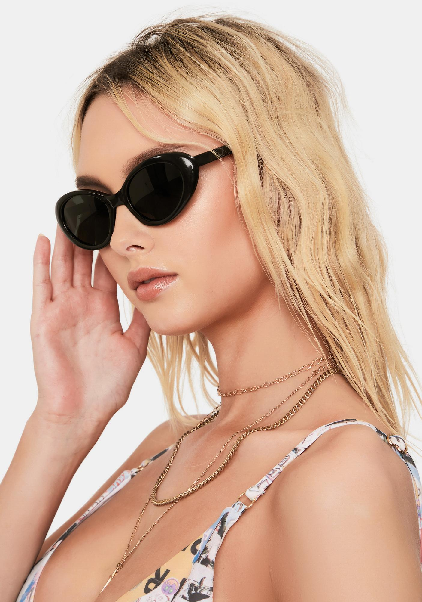 Good Times Eyewear Becky Retro Sunglasses
