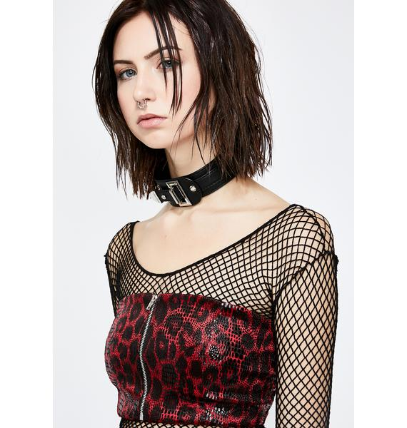 On The Hunt Leopard Tube Top