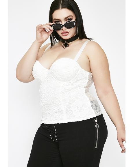 Angel Behavior Bustier Top