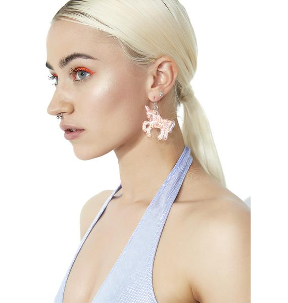 Call It Magic Glitter Earrings