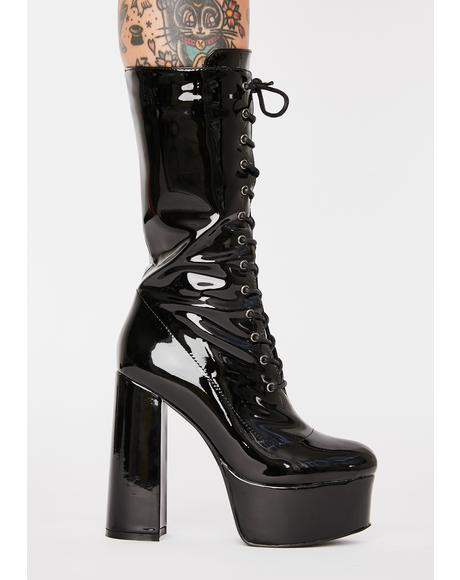 Believer Lace-Up Boots