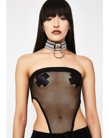 Rated Naughty Mesh Bodysuit
