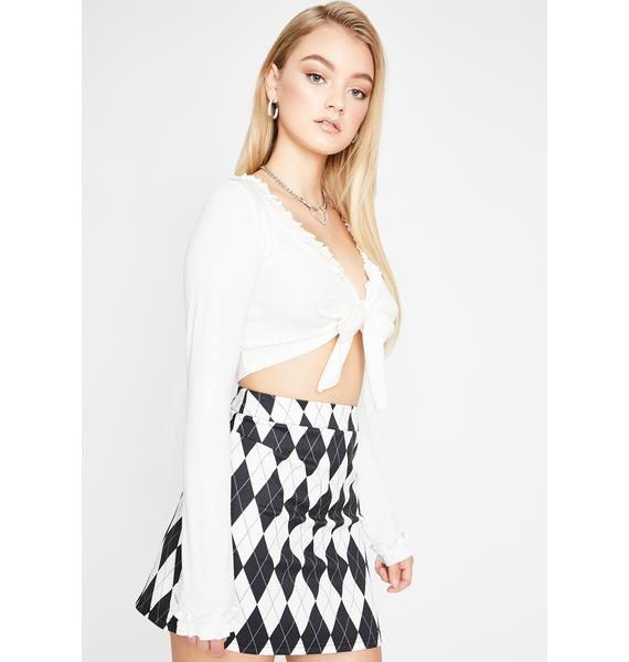 Sugar Thrillz Pure Poetry In Motion Wrap Top