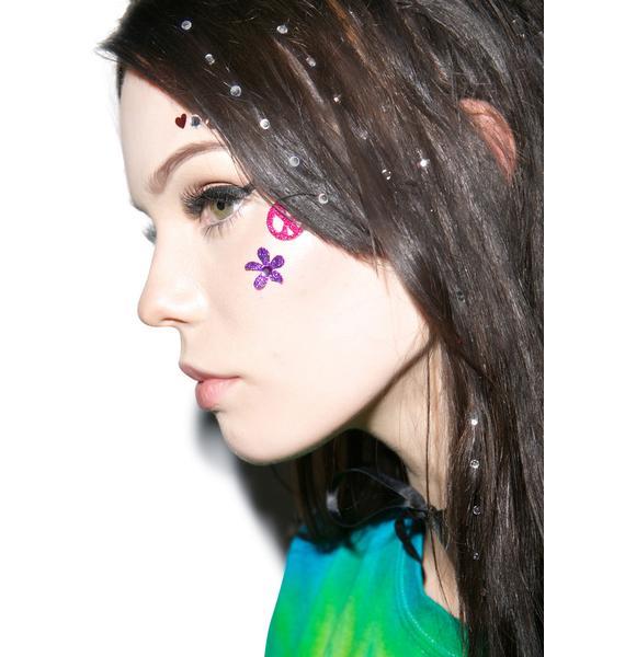Wicked Hippie Crystal Clear Hair Jewelz