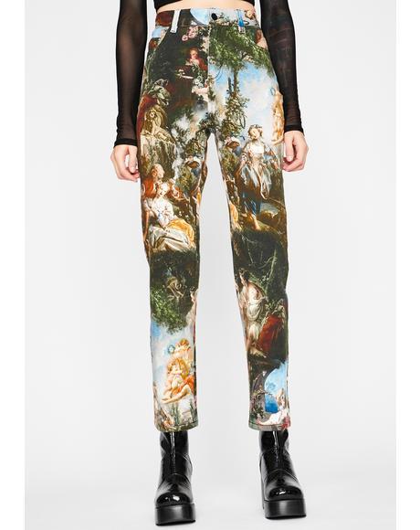 Da Vinci's Demons High Waist Jeans