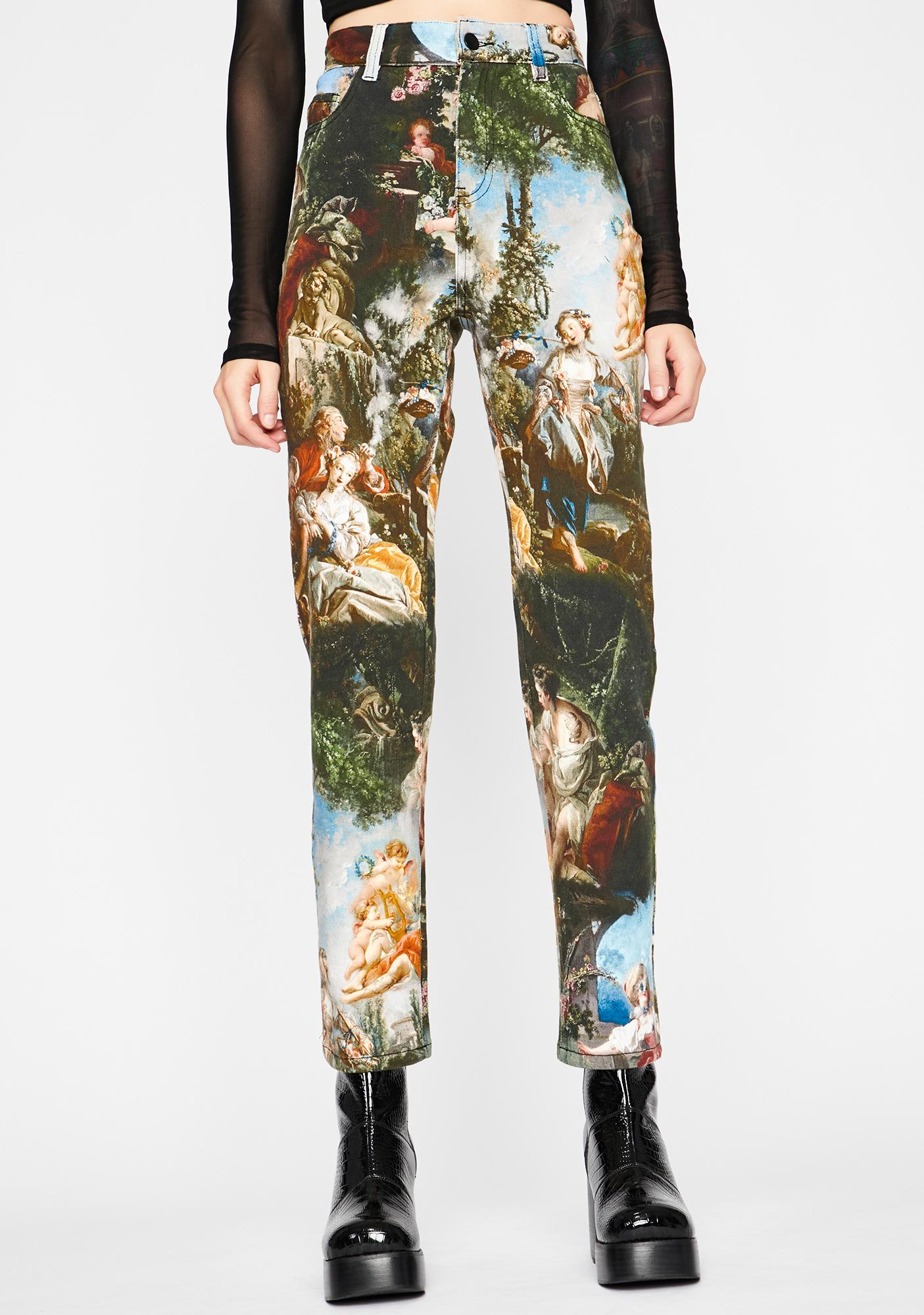 Current Mood Da Vinci's Demons High Waist Jeans