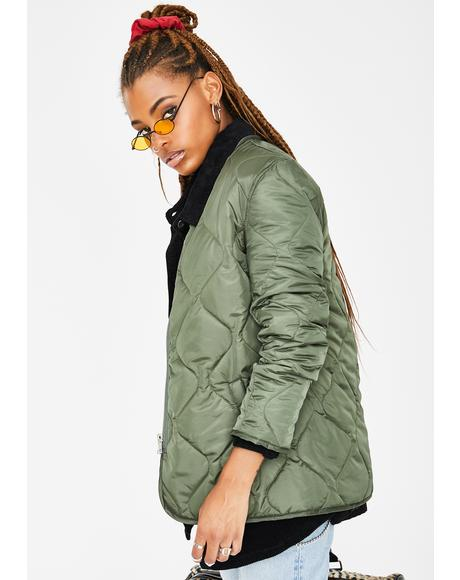 Dope Americana Quilted Jacket