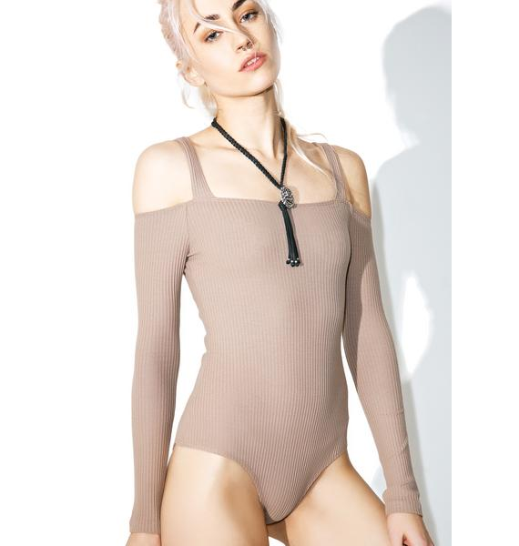 Under Cover Ribbed Bodysuit