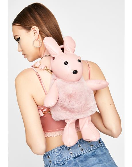 Baby Bad To The Bun Plush Backpack