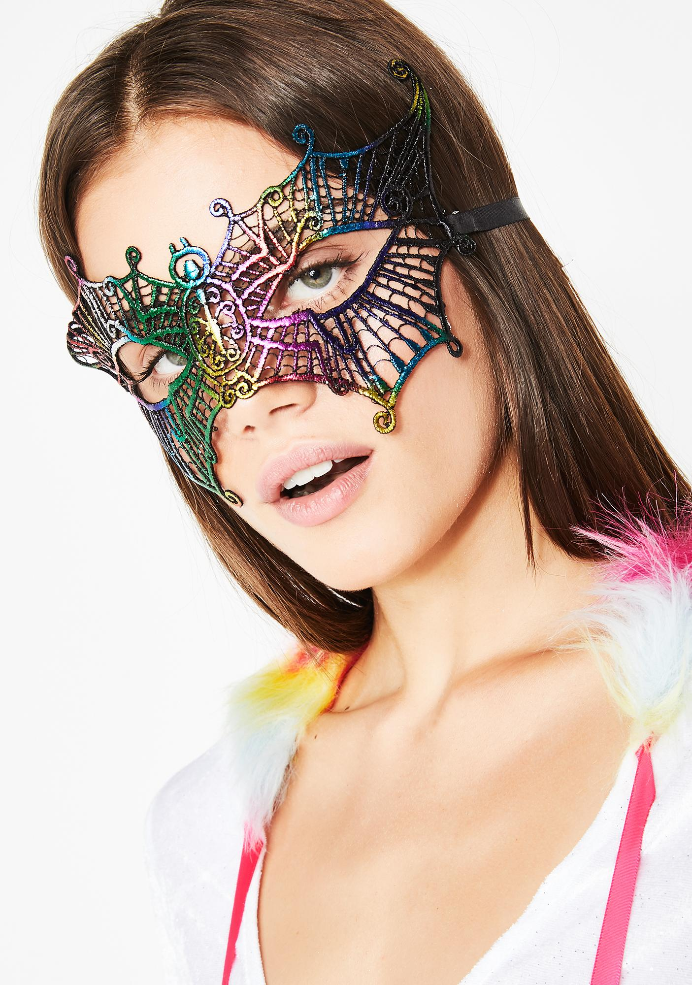 Freaky Butterfly Qween Mask