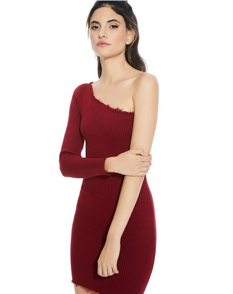 Love Galore One Shoulder Dress