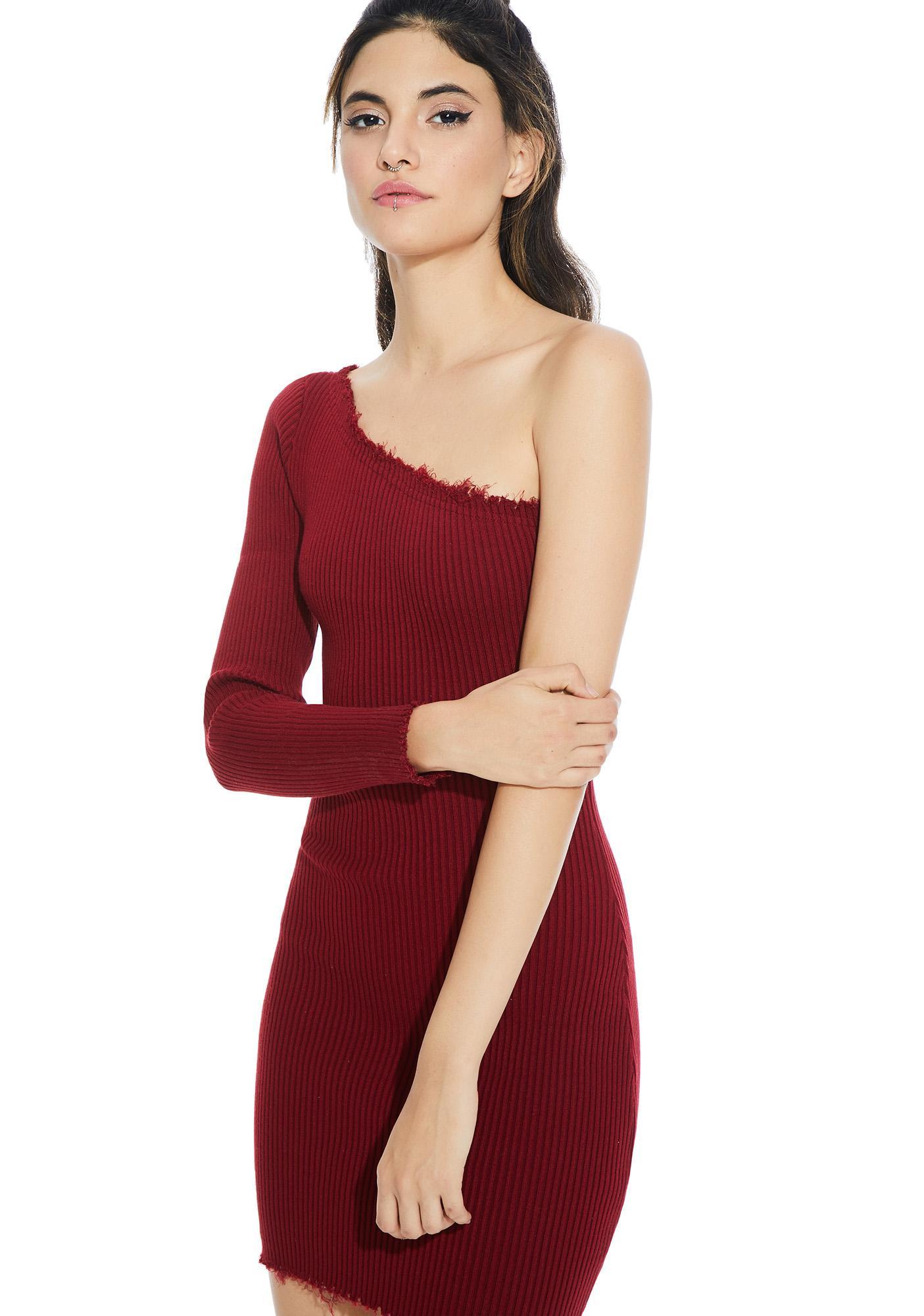 Love Galore One Shoulder Dress
