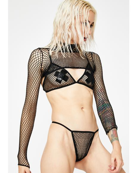 Not Thinkin' About U Lingerie Set
