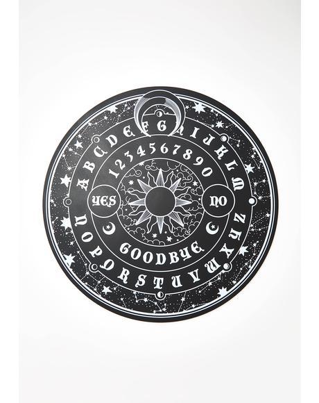 Mystic Round Spirit Board