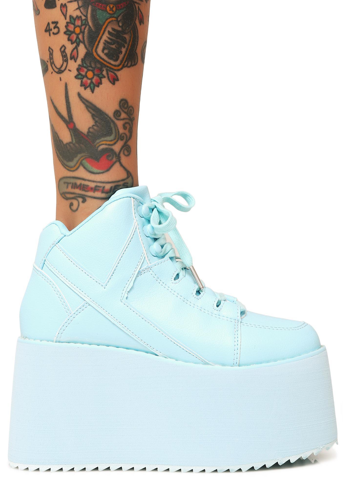Y.R.U. Arctic Qozmo 2 Platform Sneakers