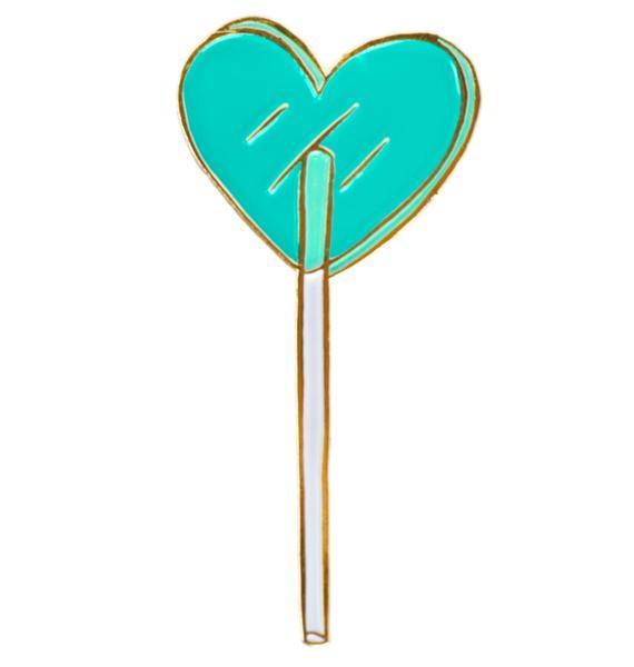 Tuesday Bassen Heart Lolli Pin