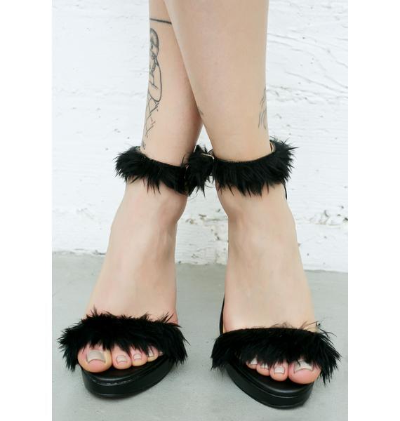 O Mighty Blaq Furbae Heels