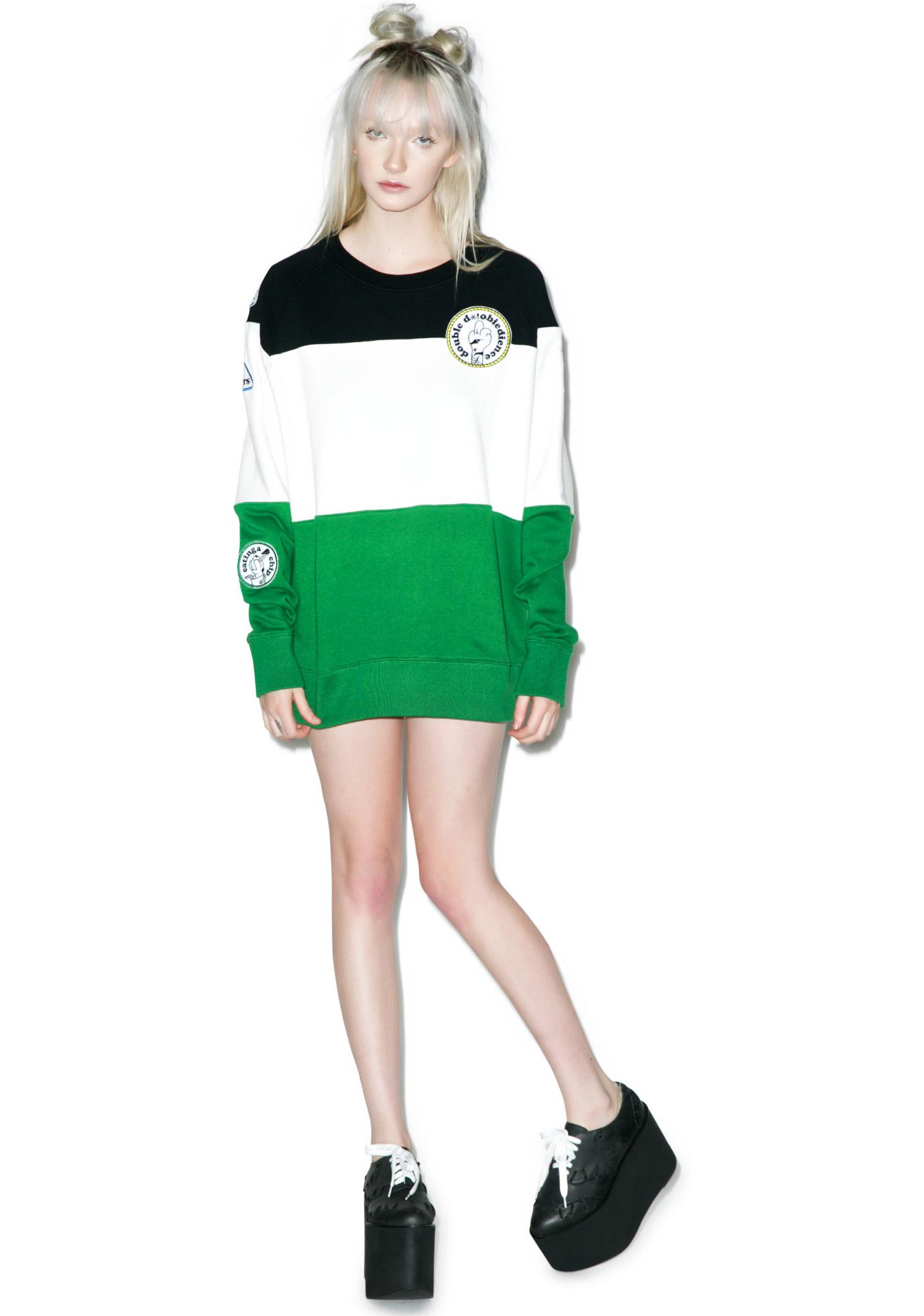 Lazy Oaf Bad Badges Sweatshirt