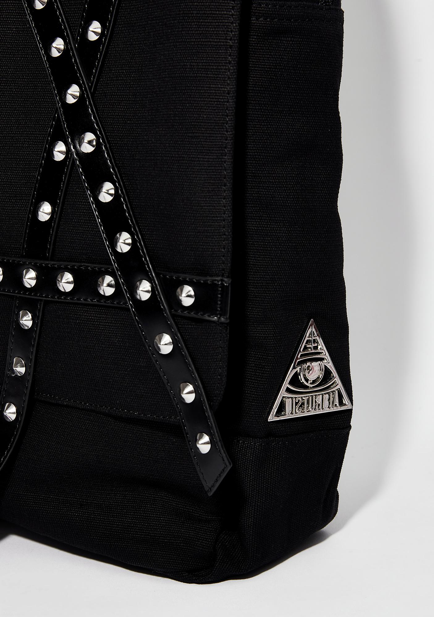 Disturbia Pentagram Backpack