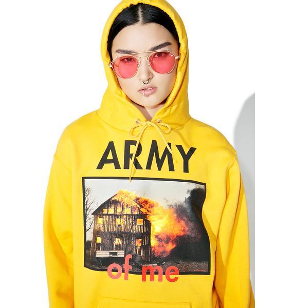 Pleasures Army Hoodie