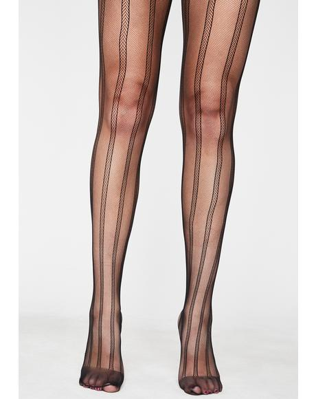 Damsel In Distress Fishnet Tights