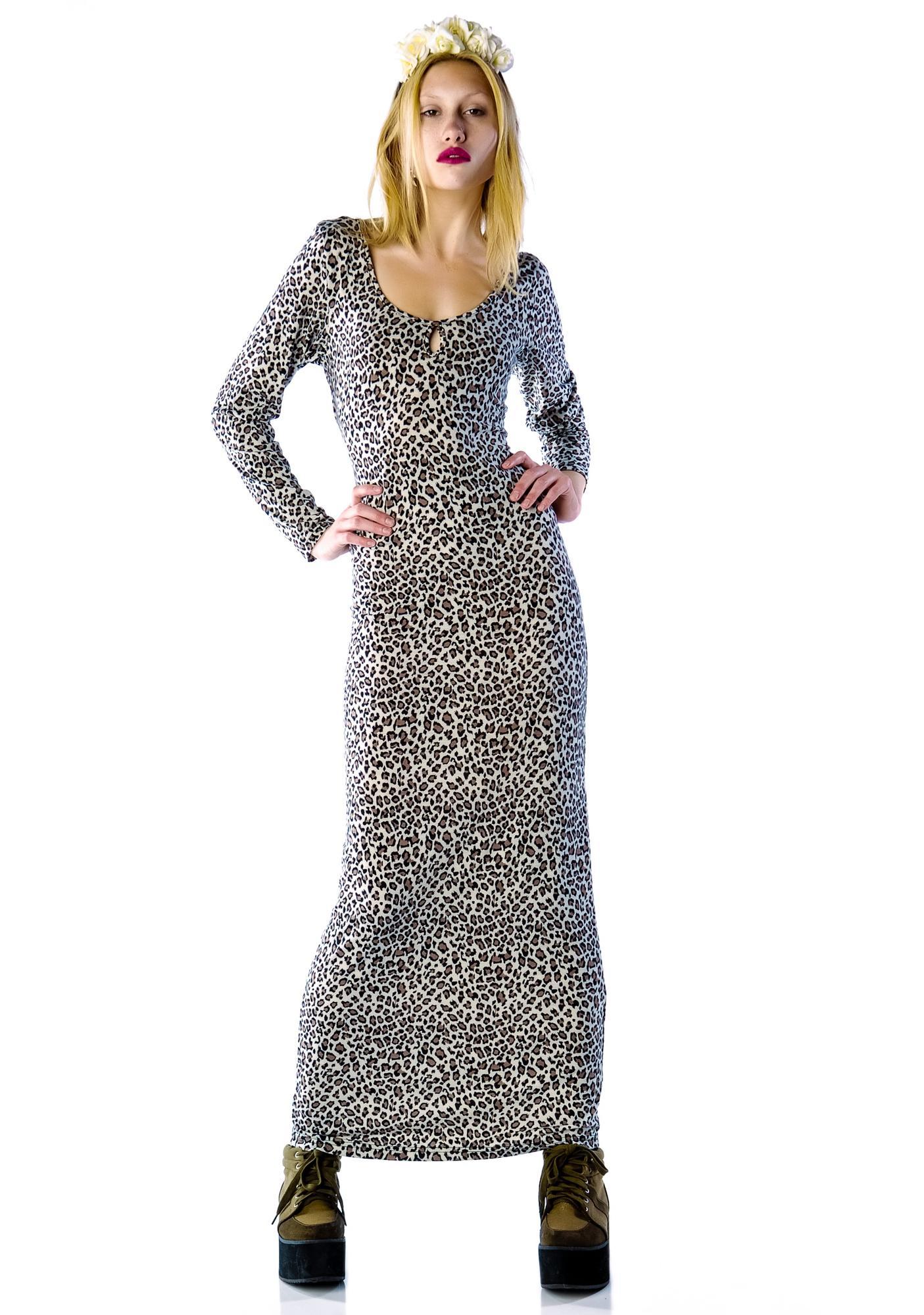 Afriiika Wrapped Maxi Dress