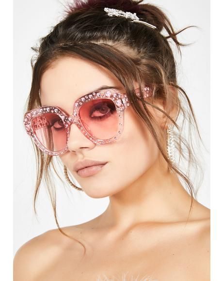 Sweetly Divine Jeweled Sunnies