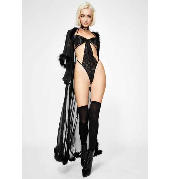 Mistress Gift Cut-Out Bodysuit