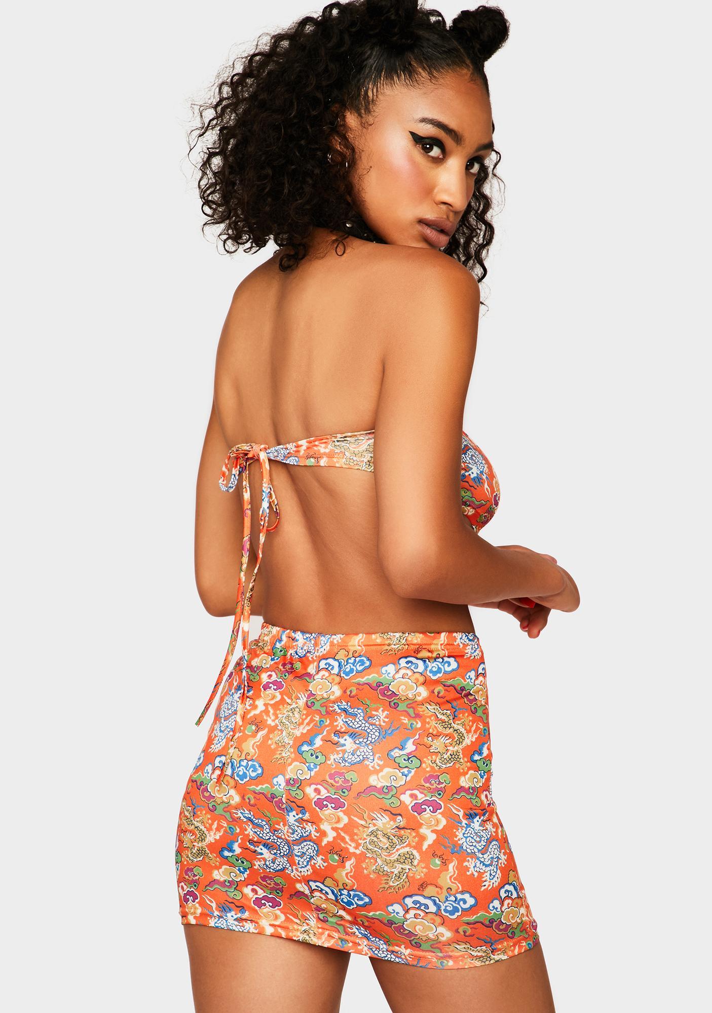 Assassin Sun's A-Blazin' Skirt Set