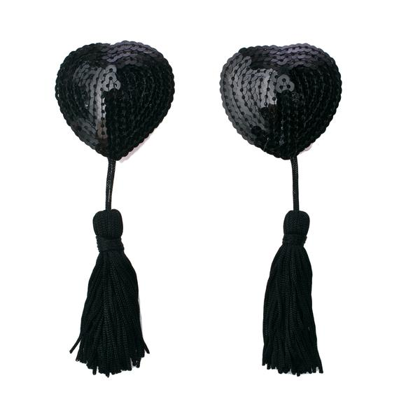 Naughty Heart Boudoir Tassel Pasties