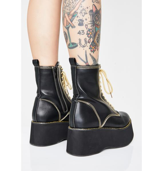 Koi Footwear Electric Enigma Platform Boots