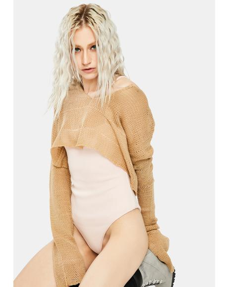 Dusty Pink Genesis Bodysuit