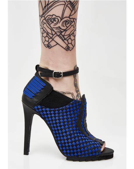 Cobalt Sensei Heels