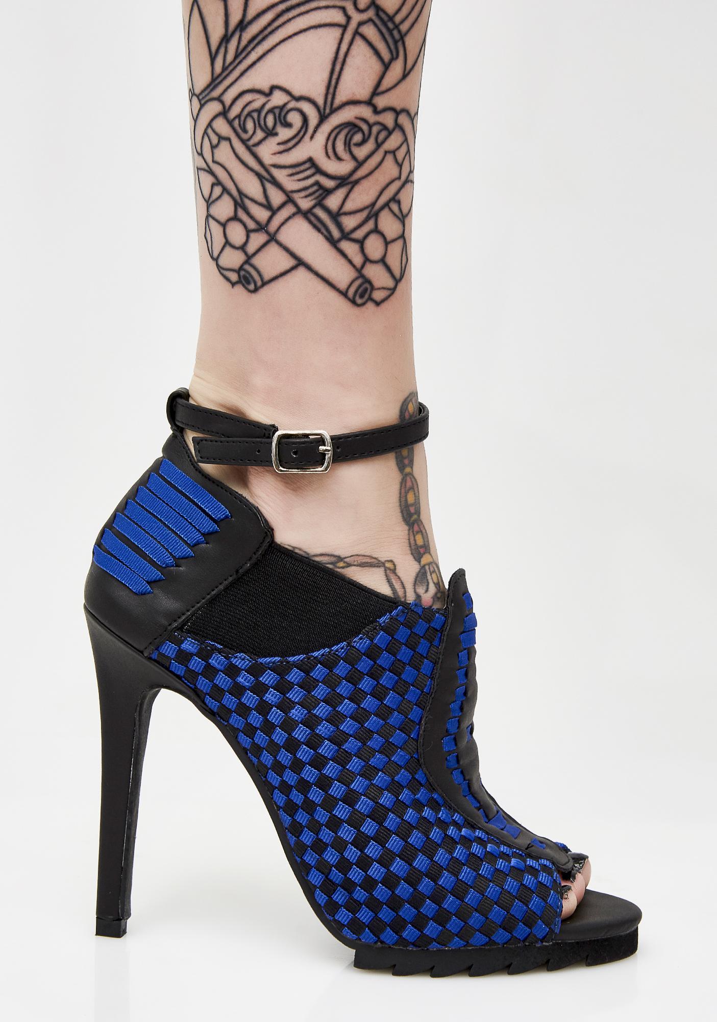 Y.R.U. Cobalt Sensei Heels