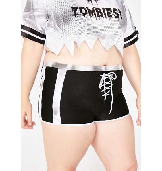 Dolls Kill Baddie Zombabe Player Costume Set