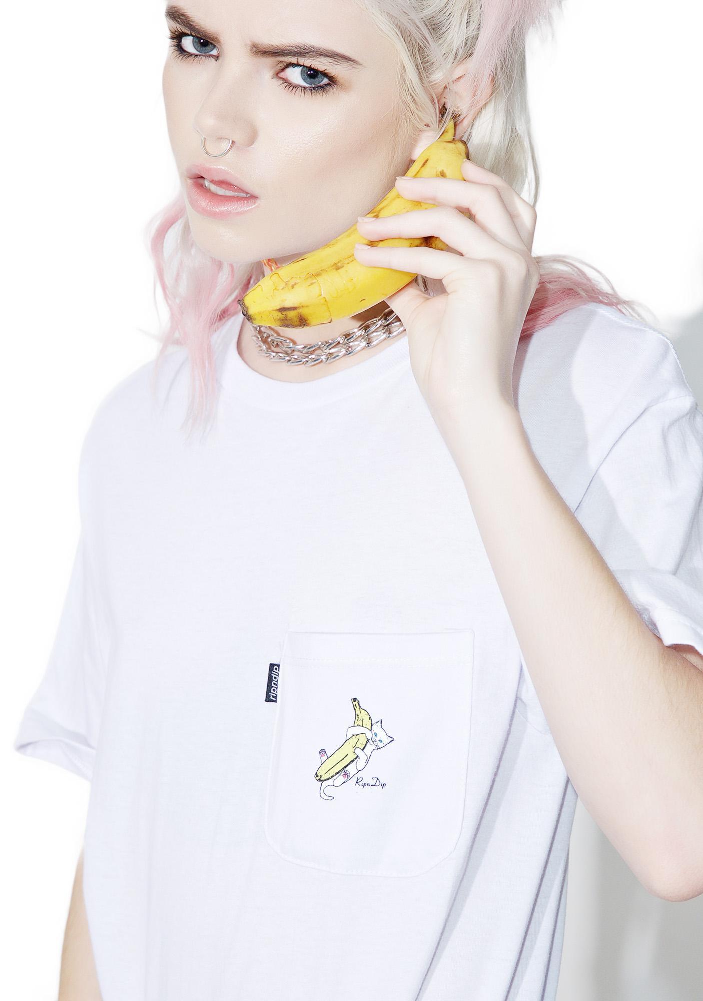RIPNDIP Nermal Banana Tee